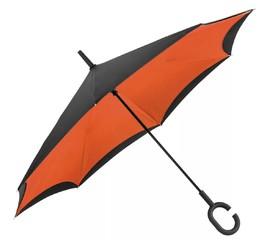 Оранжевые зонты-трости купить оптом