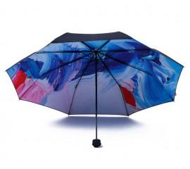 Белые складные зонты оптом