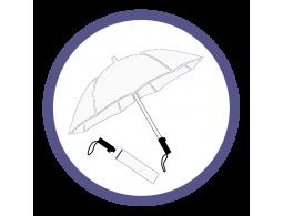 Белые складные зонты (2)