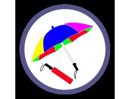 Складные зонты двух и более цветов (22)