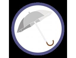 Серебряные зонты трости (7)