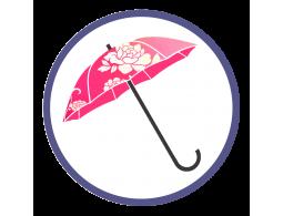 Зонты с двойным куполом и с полноцветным нанесением (Производство)
